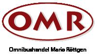OMR – Omnibushandel Mario Röttgen GmbH Logo